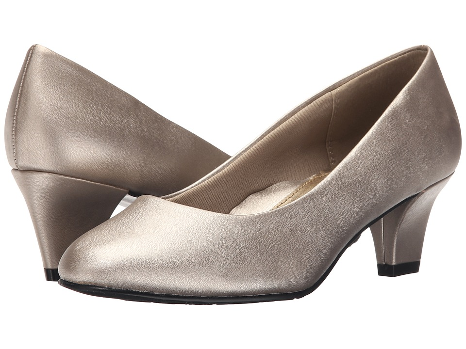 Soft Style Gail (Light Pewter Leather) High Heels