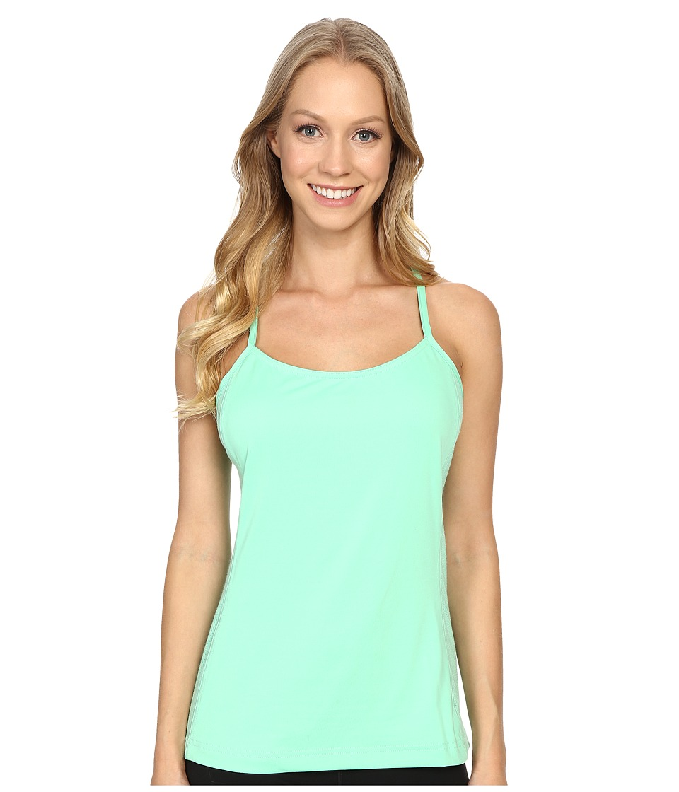 adidas Outdoor All Outdoor Climb the City Tank Top (Green Glow) Women
