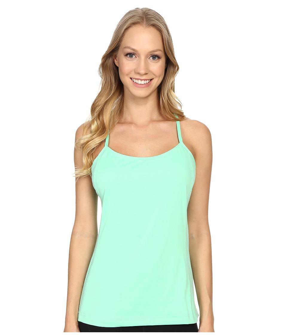 adidas Outdoor - All Outdoor Climb the City Tank Top (Green Glow) Women's Sleeveless