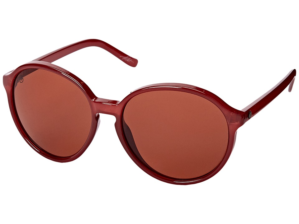 Electric Eyewear - Riot (Smokey Crimson/Melanin Rose) Fashion Sunglasses