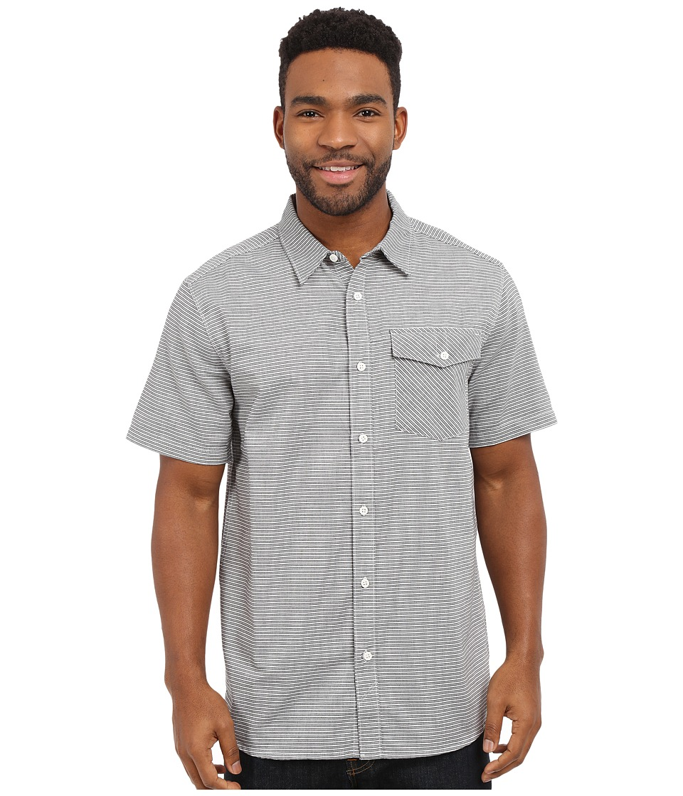 Mountain Hardwear - Drummond S/S Shirt (Black) Men's Short Sleeve Button Up