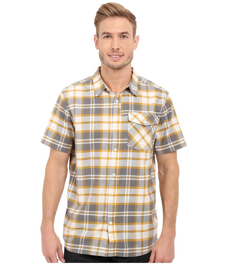 Mountain Hardwear - Drummond S/S Shirt (Titanium) Men's Short Sleeve Button Up