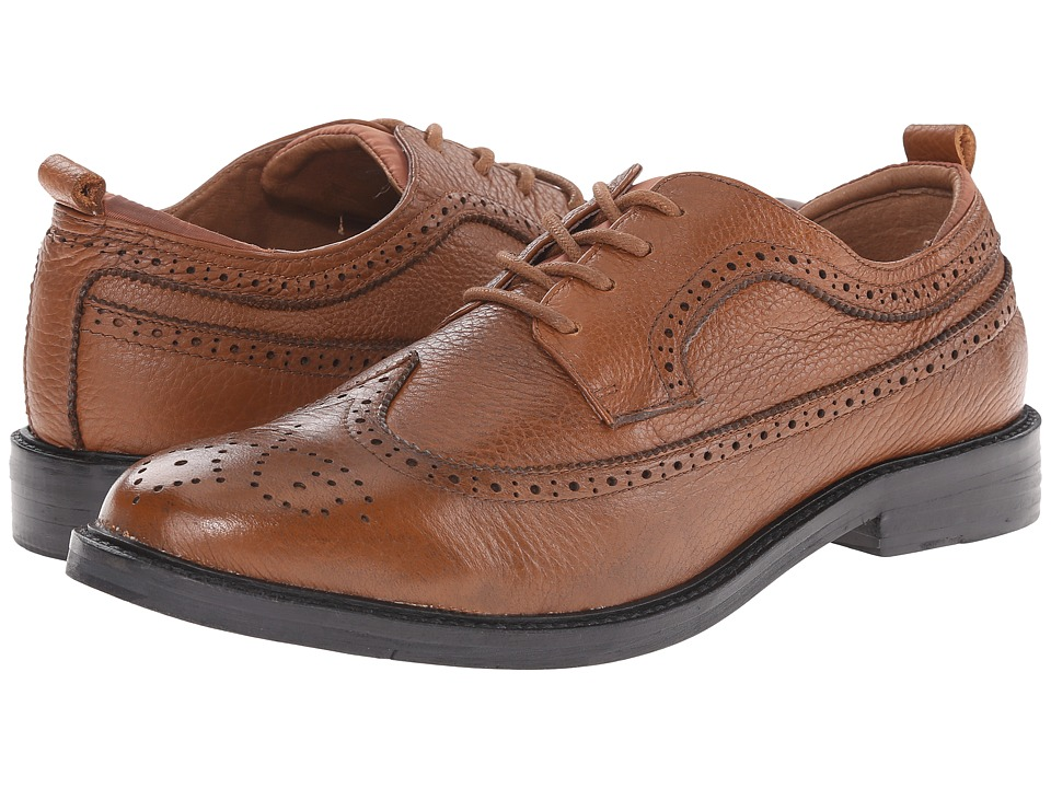 French Connection Cajhol (Cognac Pull Up Leather) Men