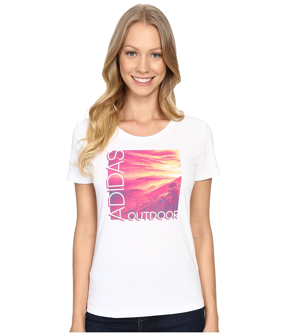 adidas Outdoor - Adi Landscape (White) Women's T Shirt