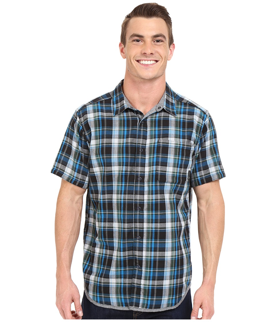 Mountain Hardwear - Mcclatchy Reversible S/S Shirt (Forest) Men's Short Sleeve Button Up