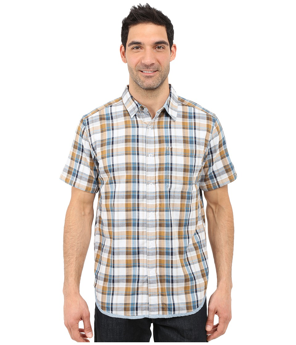 Mountain Hardwear - Mcclatchy Reversible S/S Shirt (Underbrush) Men's Short Sleeve Button Up