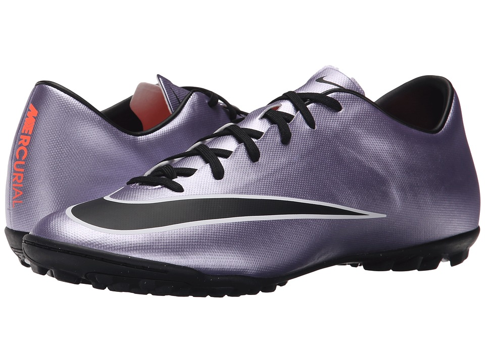 Nike - Mercurial Victory V TF (Urban Lilac/Bright Mango/Black) Men's Soccer Shoes