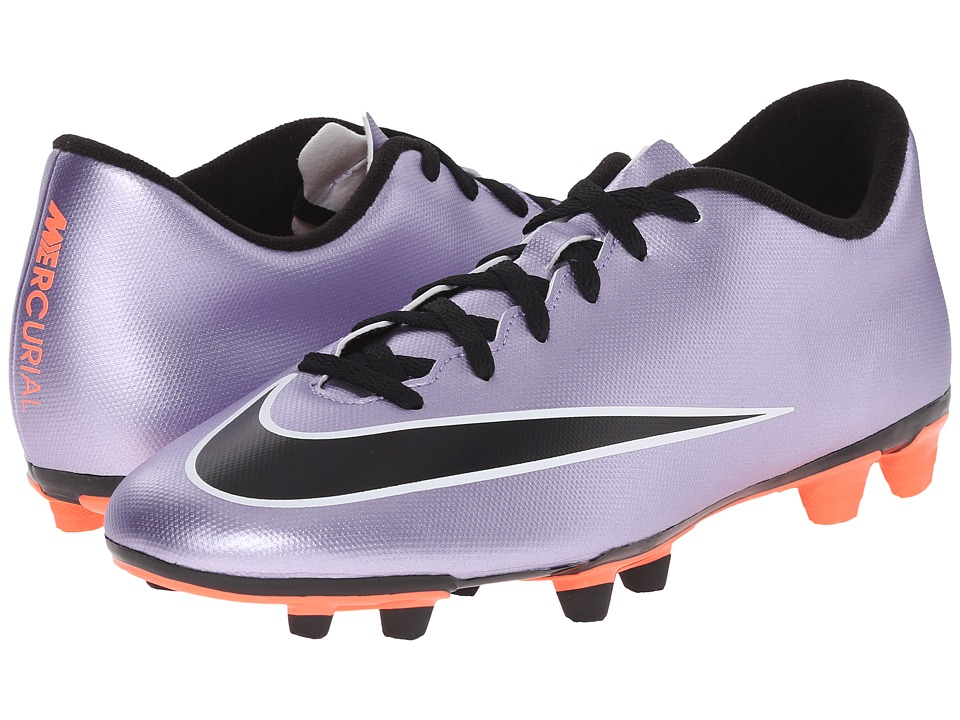 Nike - Mercurial Vortex II FG (Urban Lilac/Bright Mango/Black) Men's Soccer Shoes