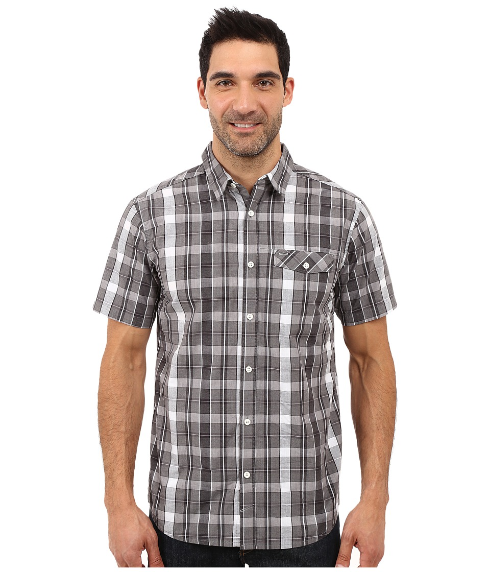 Mountain Hardwear - Stout S/S Shirt (Shark) Men's Short Sleeve Button Up