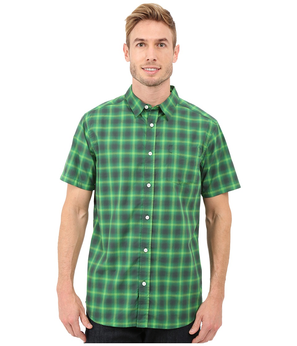 Mountain Hardwear - IPA S/S Shirt (Dark Forest) Men's Short Sleeve Button Up