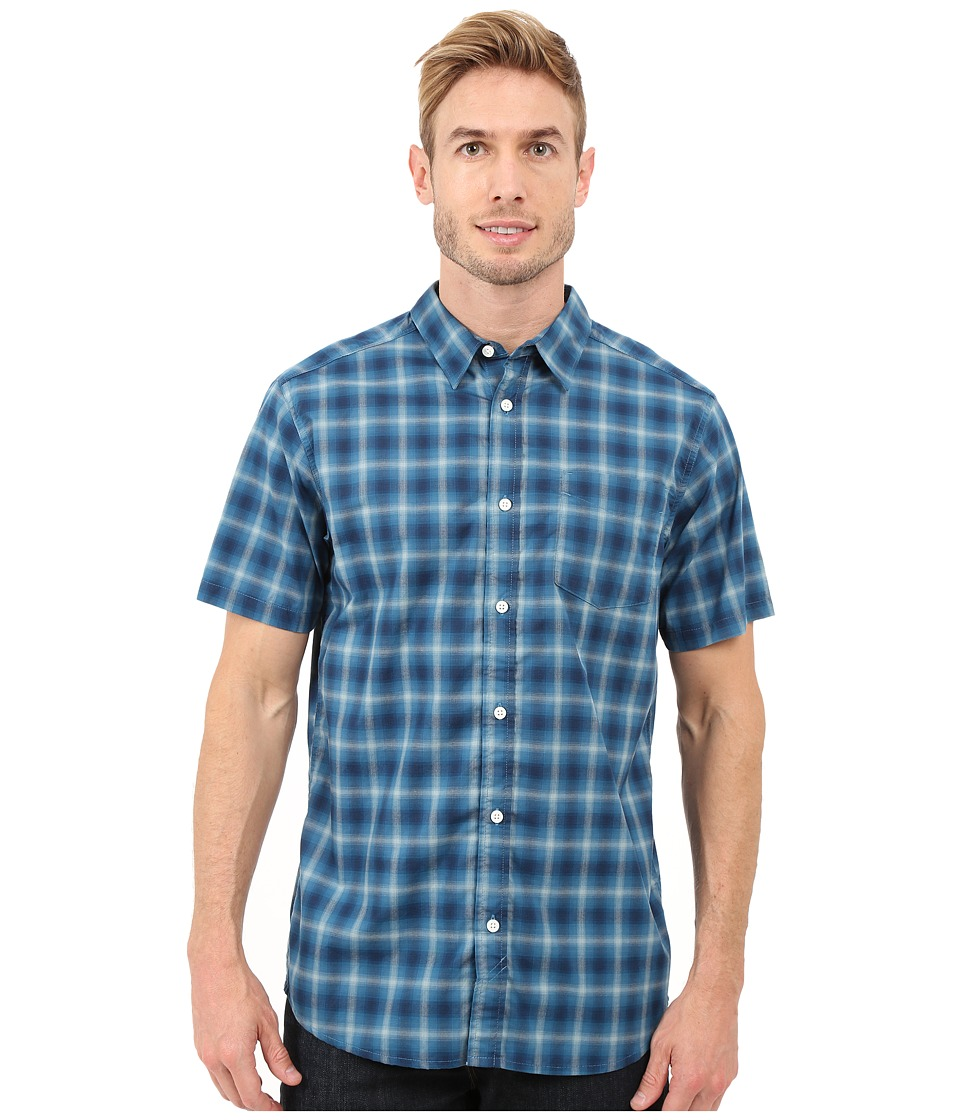 Mountain Hardwear - IPA S/S Shirt (Bluesteel) Men's Short Sleeve Button Up