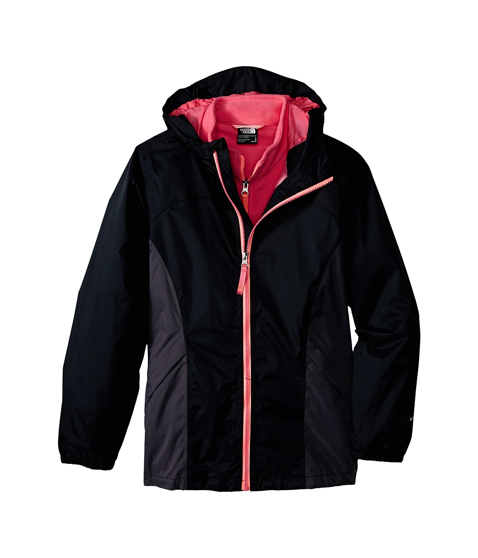 The North Face Kids - Stormy Rain Triclimate (Little Kids/Big Kids) (TNF Black) Girl's Coat