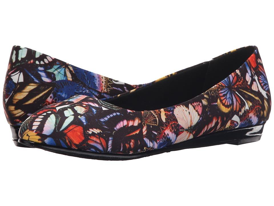 Soft Style Darlene (Bright Multi Butterfly Grosgrain) Women