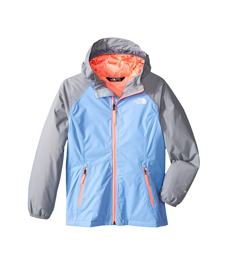 The North Face Kids - Insulated Allabout Jacket (Little Kids/Big Kids) (Collar Blue) Girl's Coat