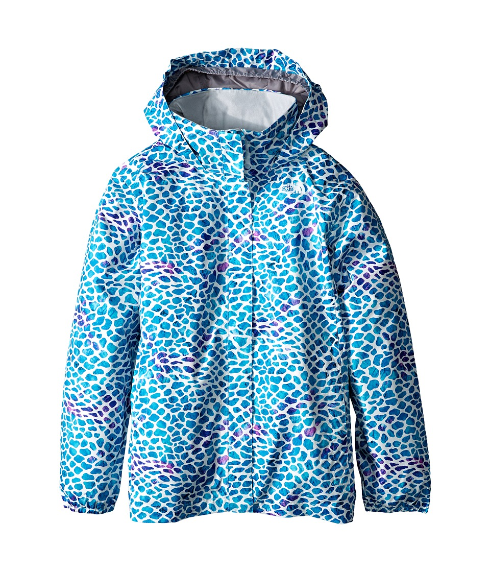 The North Face Kids - Novelty Resolve Jacket (Little Kids/Big Kids) (Bluebird Pebble Print) Girl's Coat