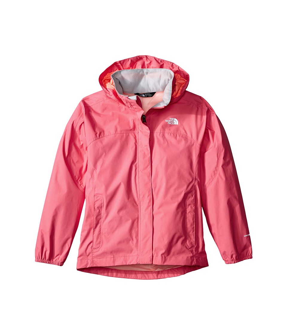 The North Face Kids - Resolve Reflective Jacket (Little Kids/Big Kids) (Cha Cha Pink) Girl's Coat