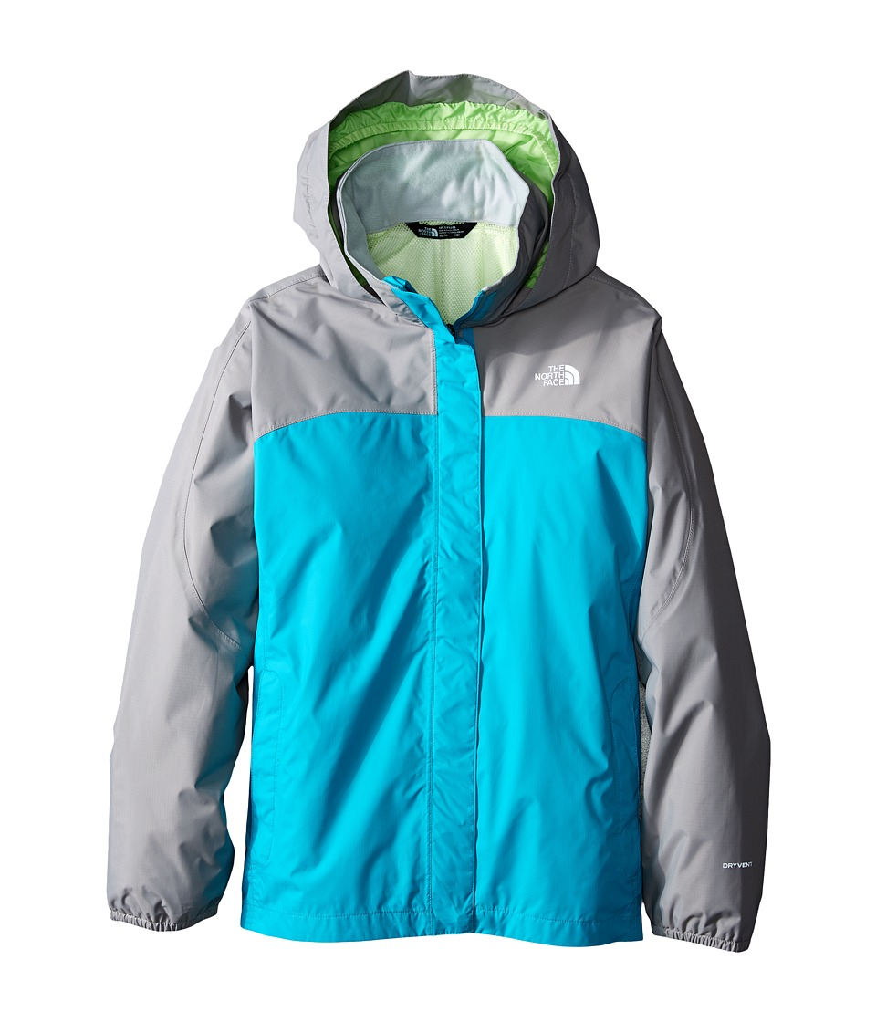 The North Face Kids Resolve Reflective Jacket (Little Kids/Big Kids) (Bluebird) Girl