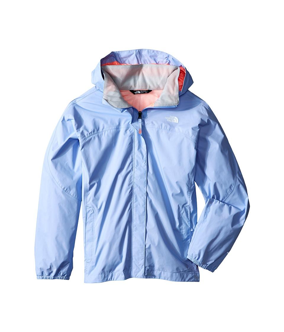 The North Face Kids - Resolve Reflective Jacket (Little Kids/Big Kids) (Collar Blue) Girl's Coat