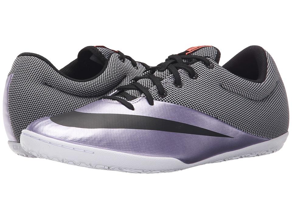 Nike - Mercurial Pro IC (Urban Lilac/Bright Mango/Black) Men's Soccer Shoes