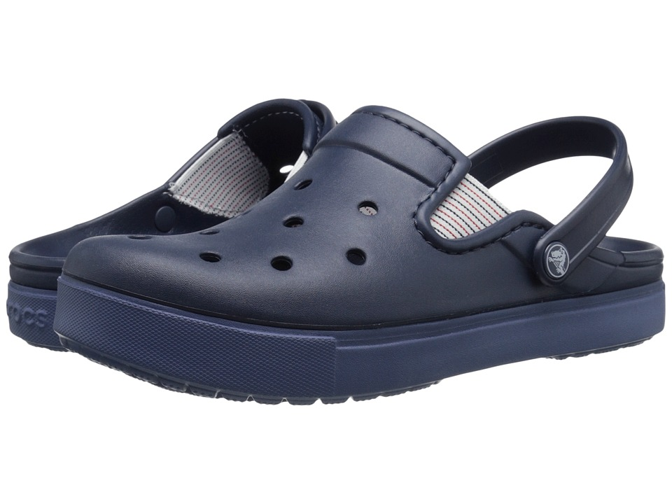 Crocs - CitiLane Flash (Navy/Bijou Blue) Clog Shoes