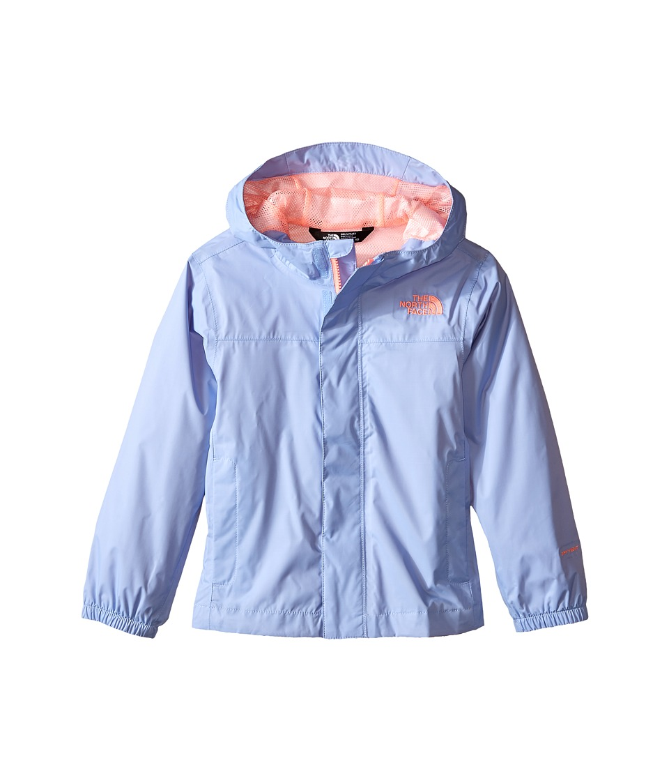 The North Face Kids - Girls' Zipline Rain Jacket (Little Kids/Big Kids) (Collar Blue) Girl's Coat