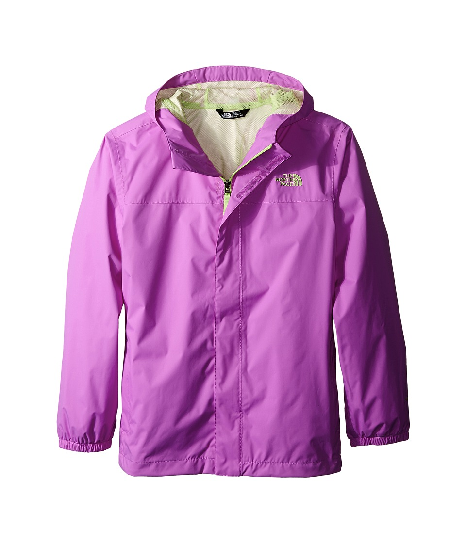The North Face Kids - Girls' Zipline Rain Jacket (Little Kids/Big Kids) (Sweet Violet) Girl's Coat