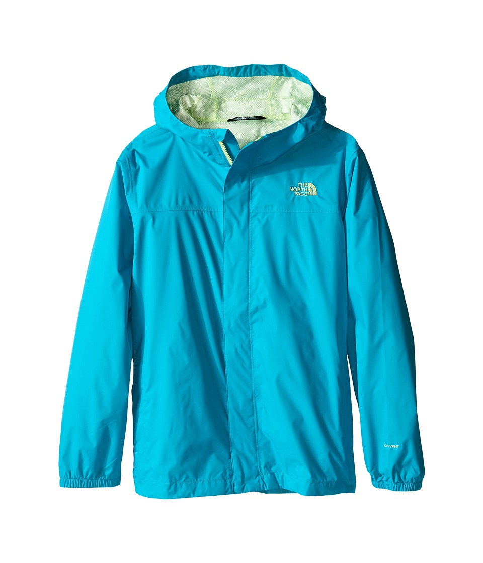 The North Face Kids - Girls' Zipline Rain Jacket (Little Kids/Big Kids) (Bluebird) Girl's Coat