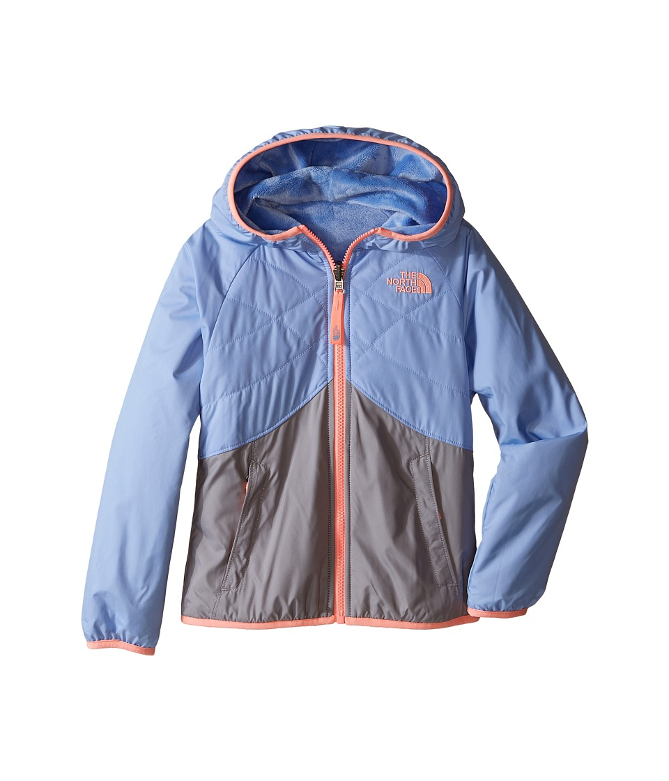 The North Face Kids - Reversible Breezeway Wind Jacket (Little Kids/Big Kids) (Collar Blue) Girl's Coat