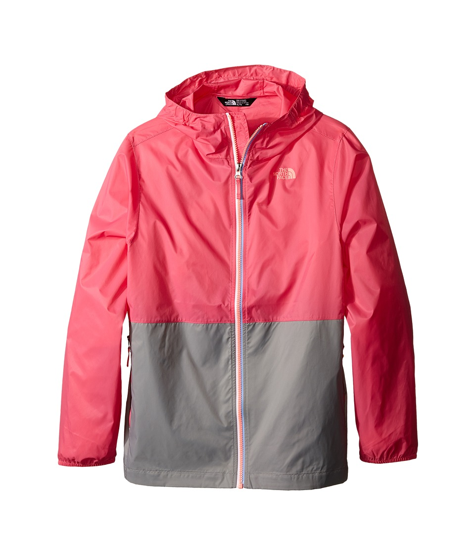 The North Face Kids - Flurry Wind Hoodie (Little Kids/Big Kids) (Cha Cha Pink) Girl's Coat