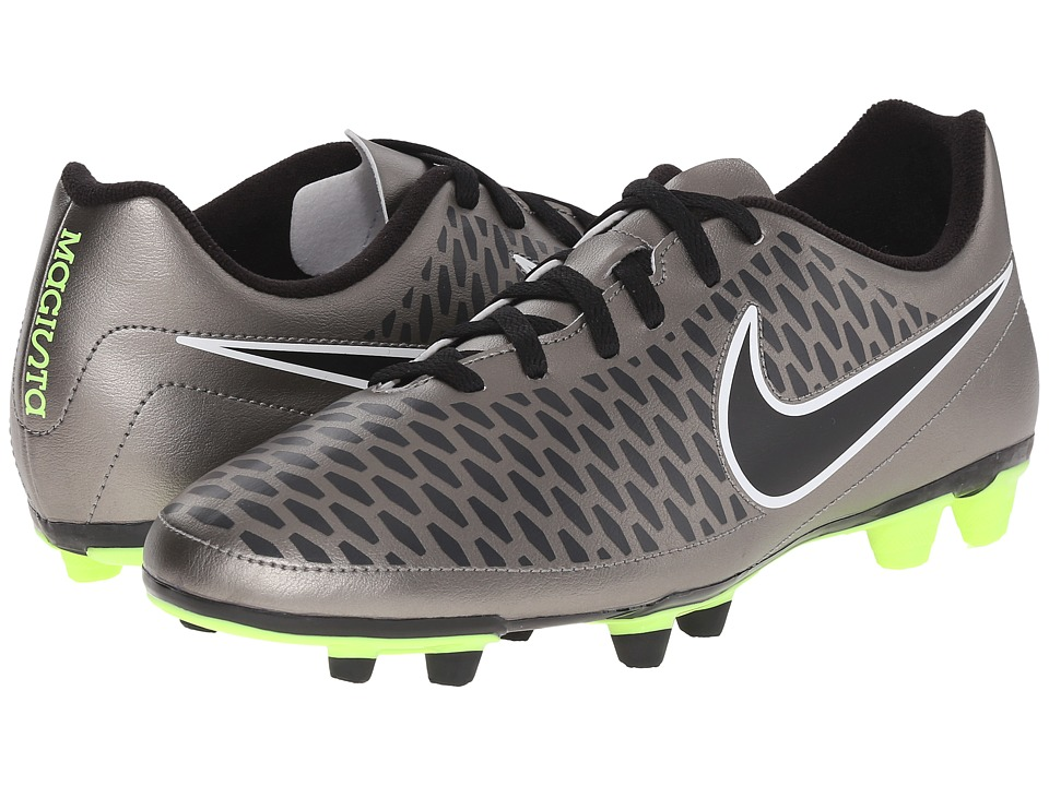 Nike - Magista Ola FG (Metallic Pewter/Ghost Green/Black) Men's Soccer Shoes