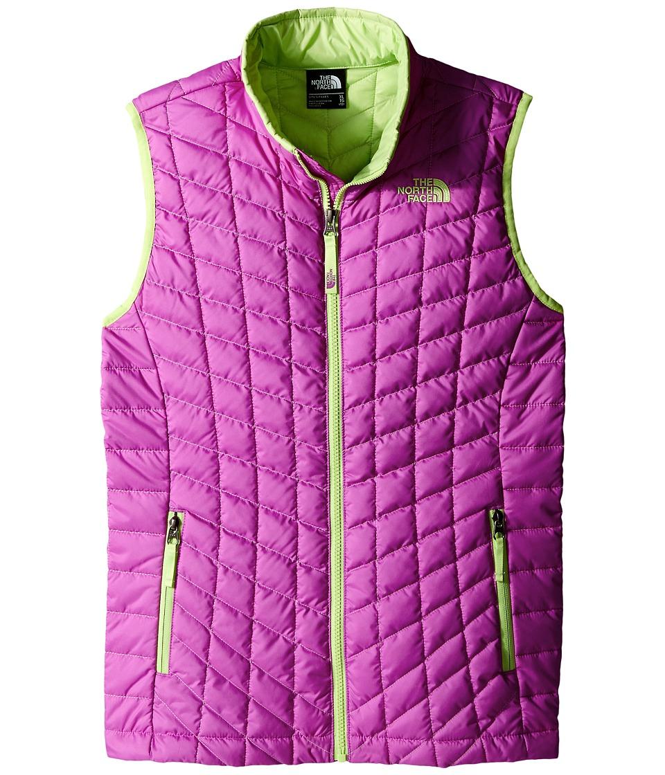 The North Face Kids - ThermoBall Vest (Little Kids/Big Kids) (Sweet Violet) Girl's Vest