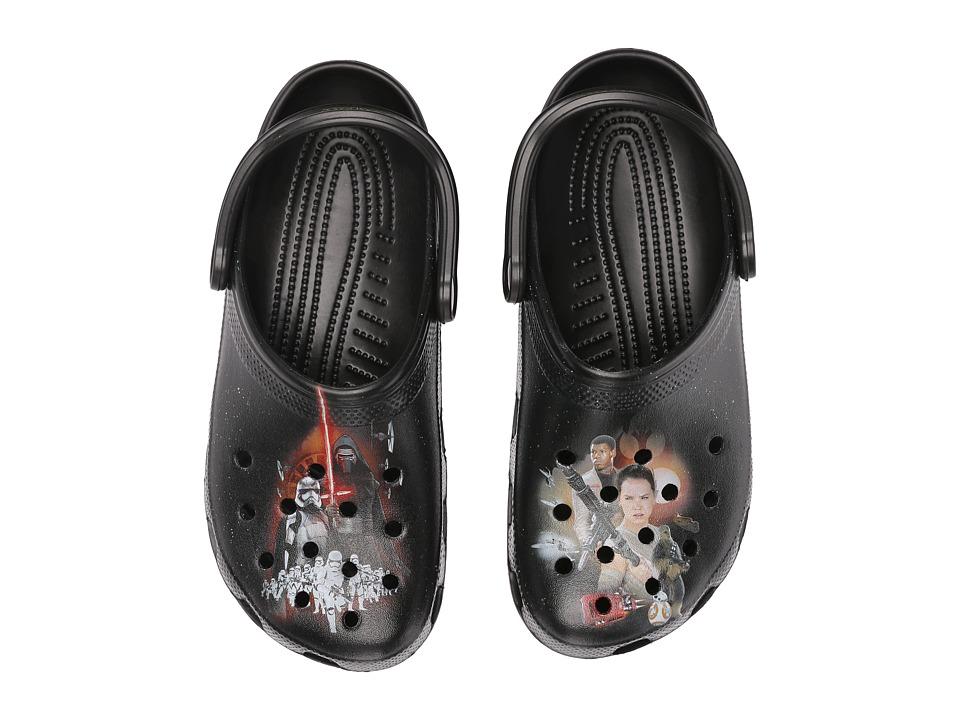 Crocs Classic Star Wars Clog (Black) Clog Shoes