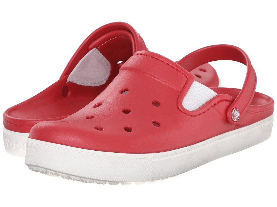 Crocs - CitiLane Clog (Pepper/White) Clog Shoes