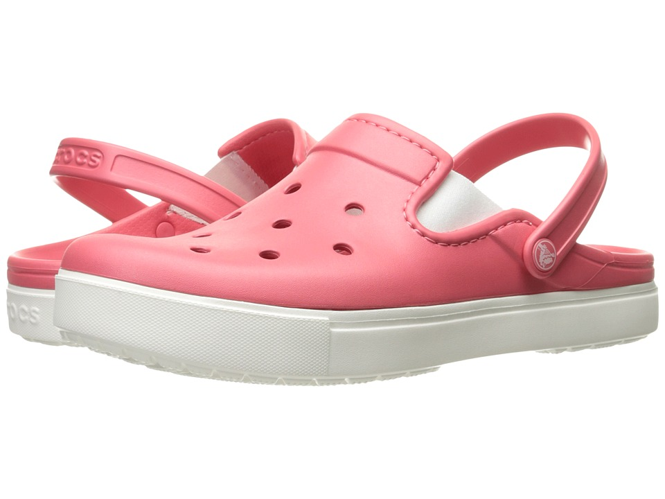 Crocs - CitiLane Clog (Coral/White) Clog Shoes
