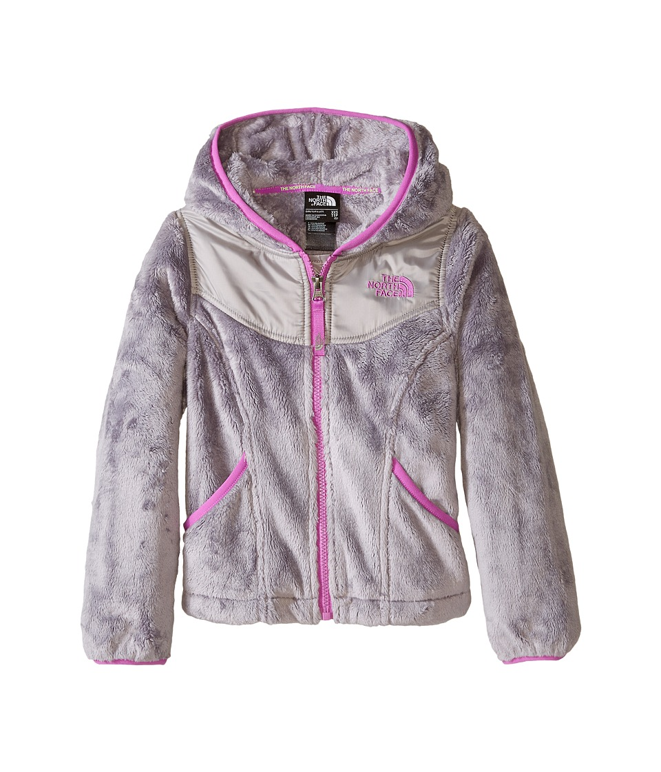 The North Face Kids - Oso Hoodie (Little Kids/Big Kids) (Metallic Silver/Sweet Violet) Girl's Fleece