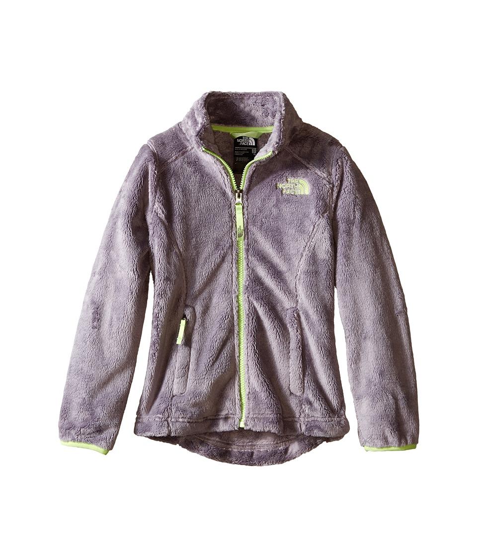 The North Face Kids - Osolita Jacket (Little Kids/Big Kids) (Metallic Silver/Budding Green) Girl's Coat
