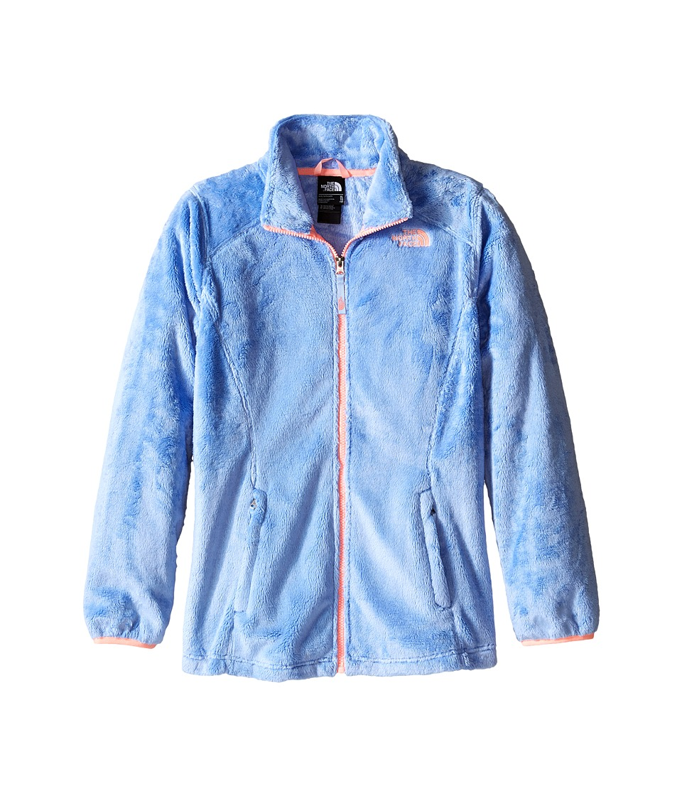 The North Face Kids - Osolita Jacket (Little Kids/Big Kids) (Collar Blue) Girl's Coat