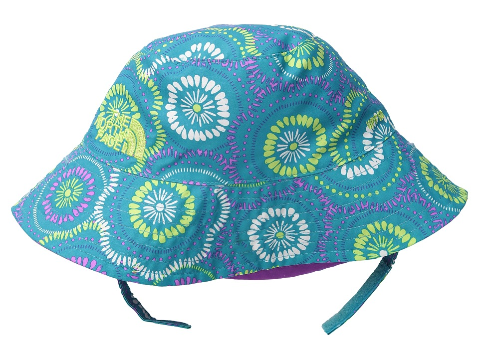 The North Face Kids - Baby Sun Bucket 13 (Infant) (Bluebird Sand Dollar Print) Bucket Caps