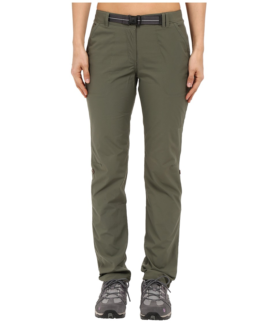 adidas Outdoor - All Outdoor Lite Hike Woven Pants (Base Green) Women's Casual Pants