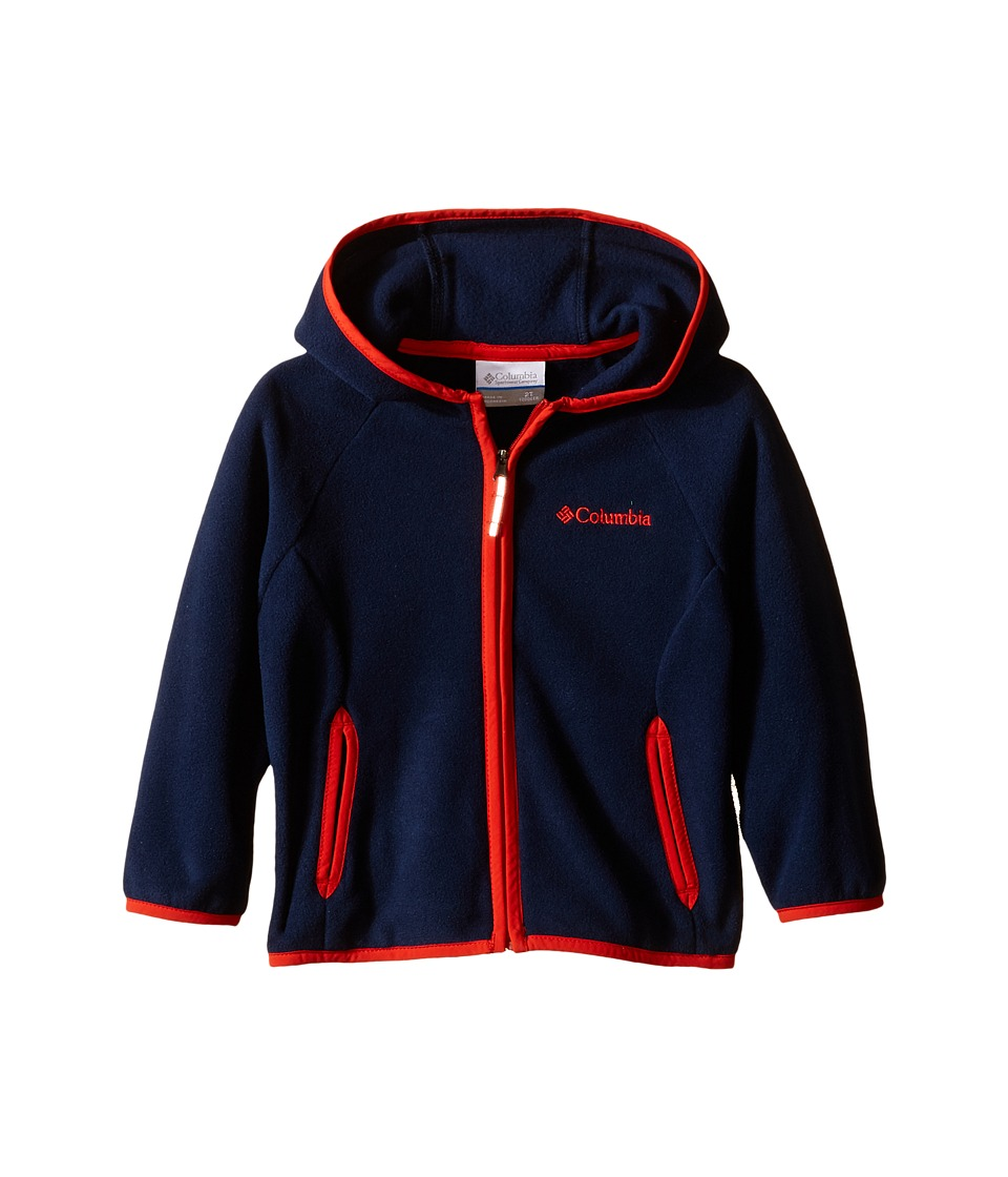 Columbia Kids - Fast Trek Hoodie (Infant/Toddler) (Collegiate Navy) Kid's Sweatshirt