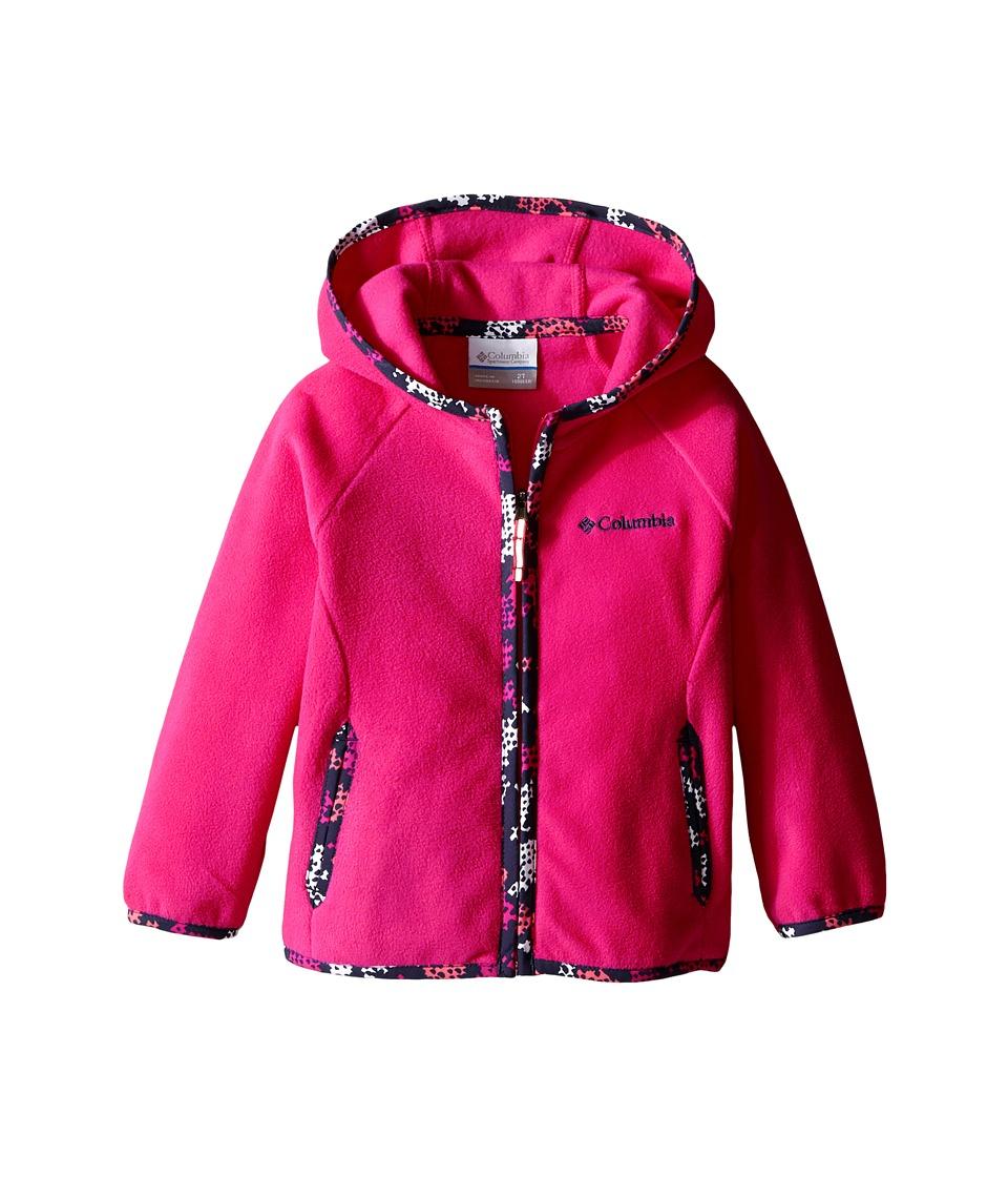 Columbia Kids - Fast Trek Hoodie (Infant/Toddler) (Haute Pink) Kid's Sweatshirt