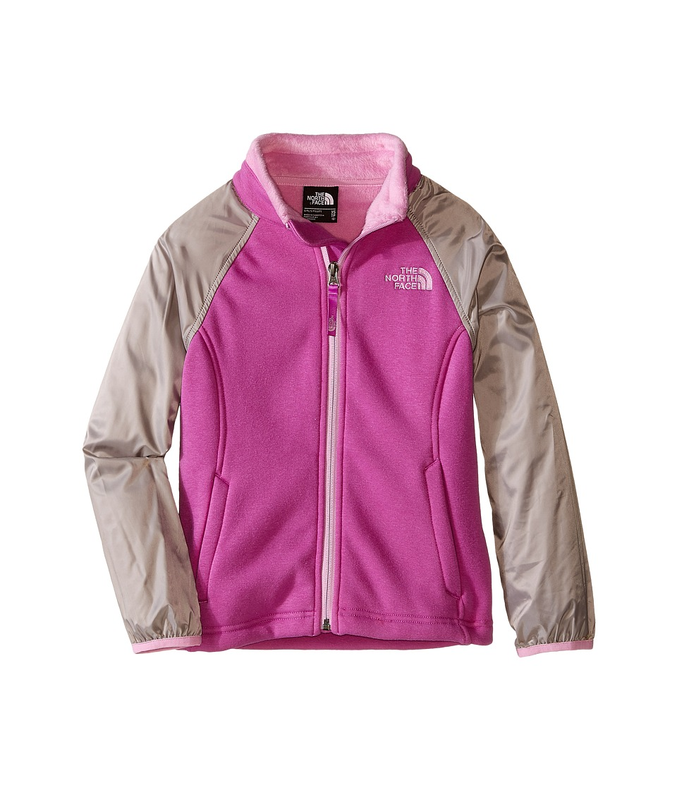 The North Face Kids - Silver Skye Track Jacket (Little Kids/Big Kids) (Sweet Violet) Girl's Jacket