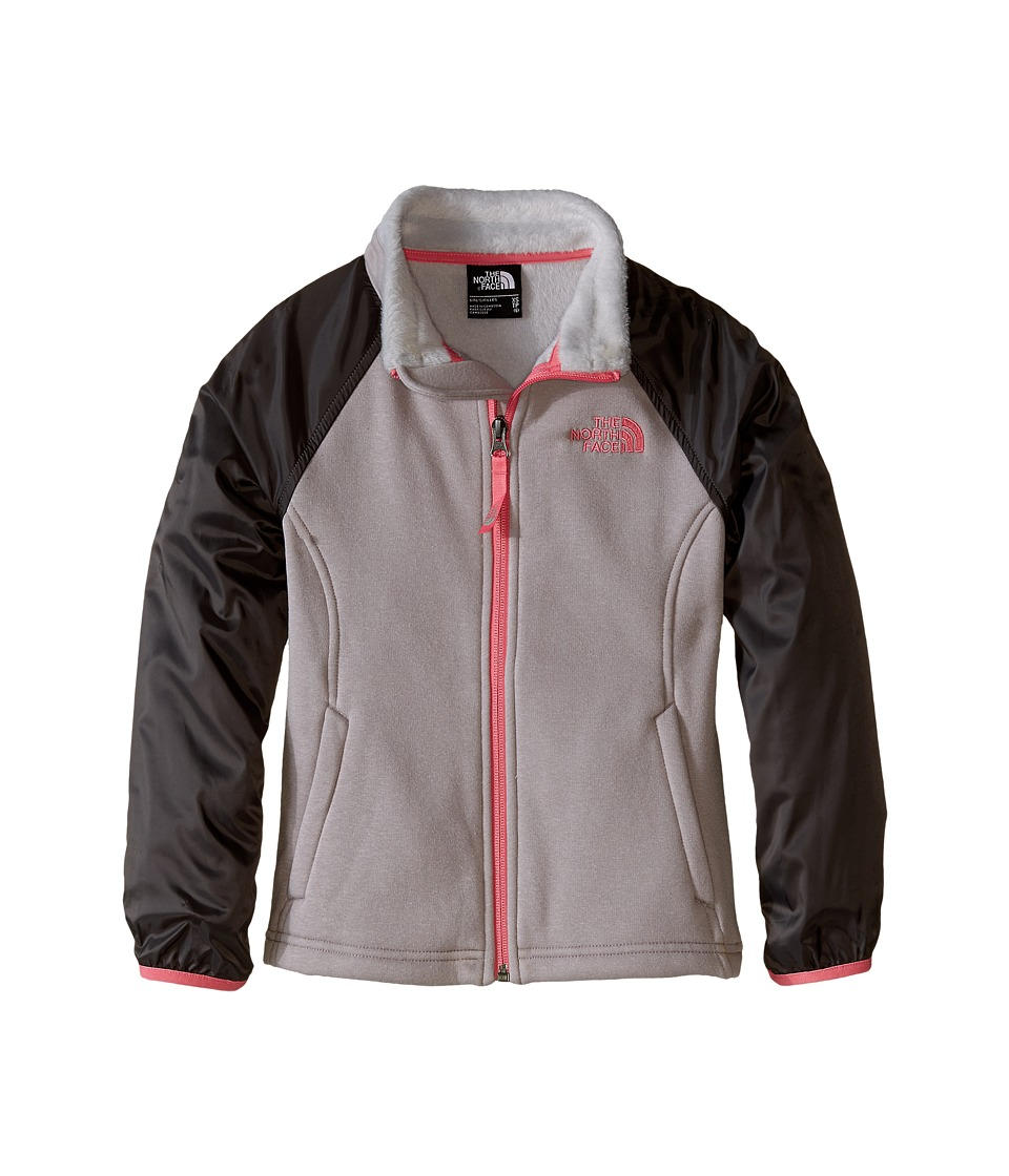The North Face Kids - Silver Skye Track Jacket (Little Kids/Big Kids) (Metallic Silver) Girl's Jacket