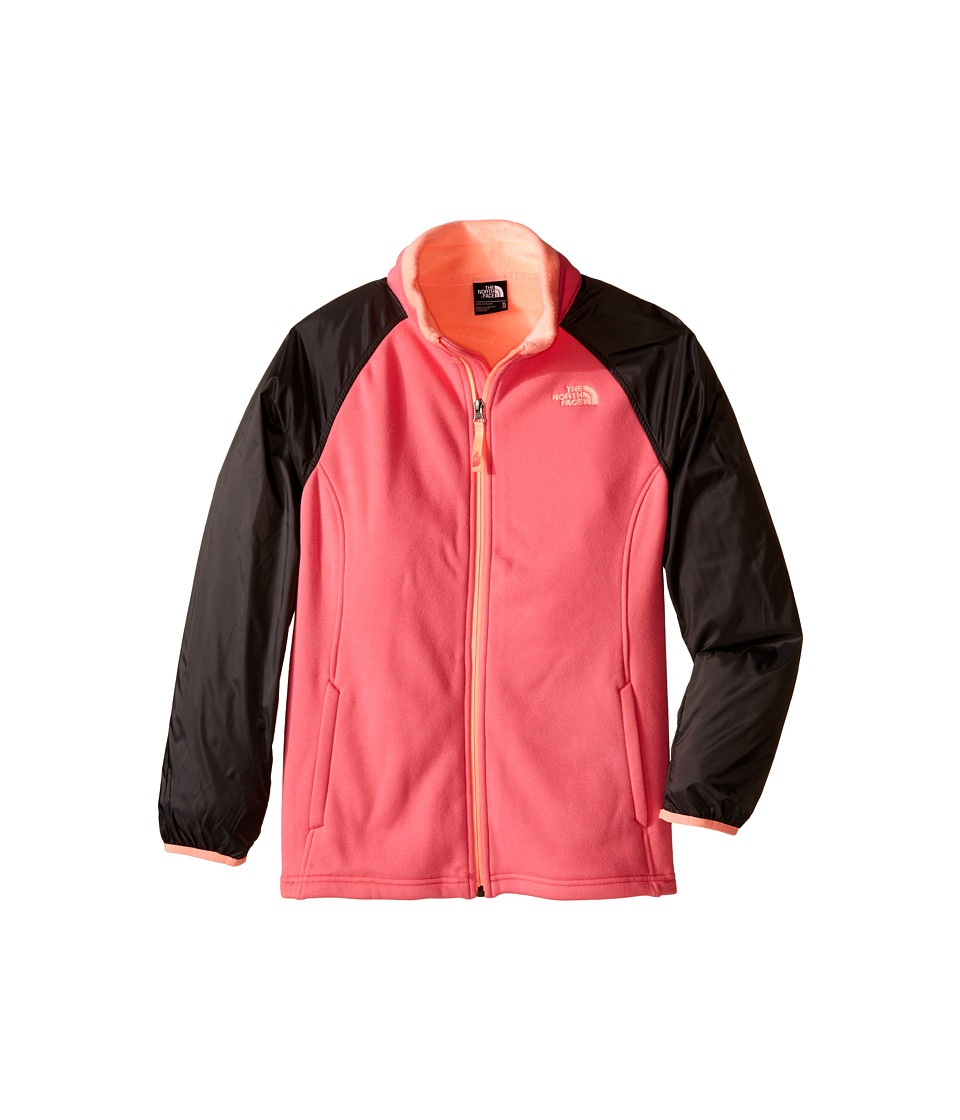 The North Face Kids Silver Skye Track Jacket (Little Kids/Big Kids) (Cha Cha Pink (Prior Season)) Girl