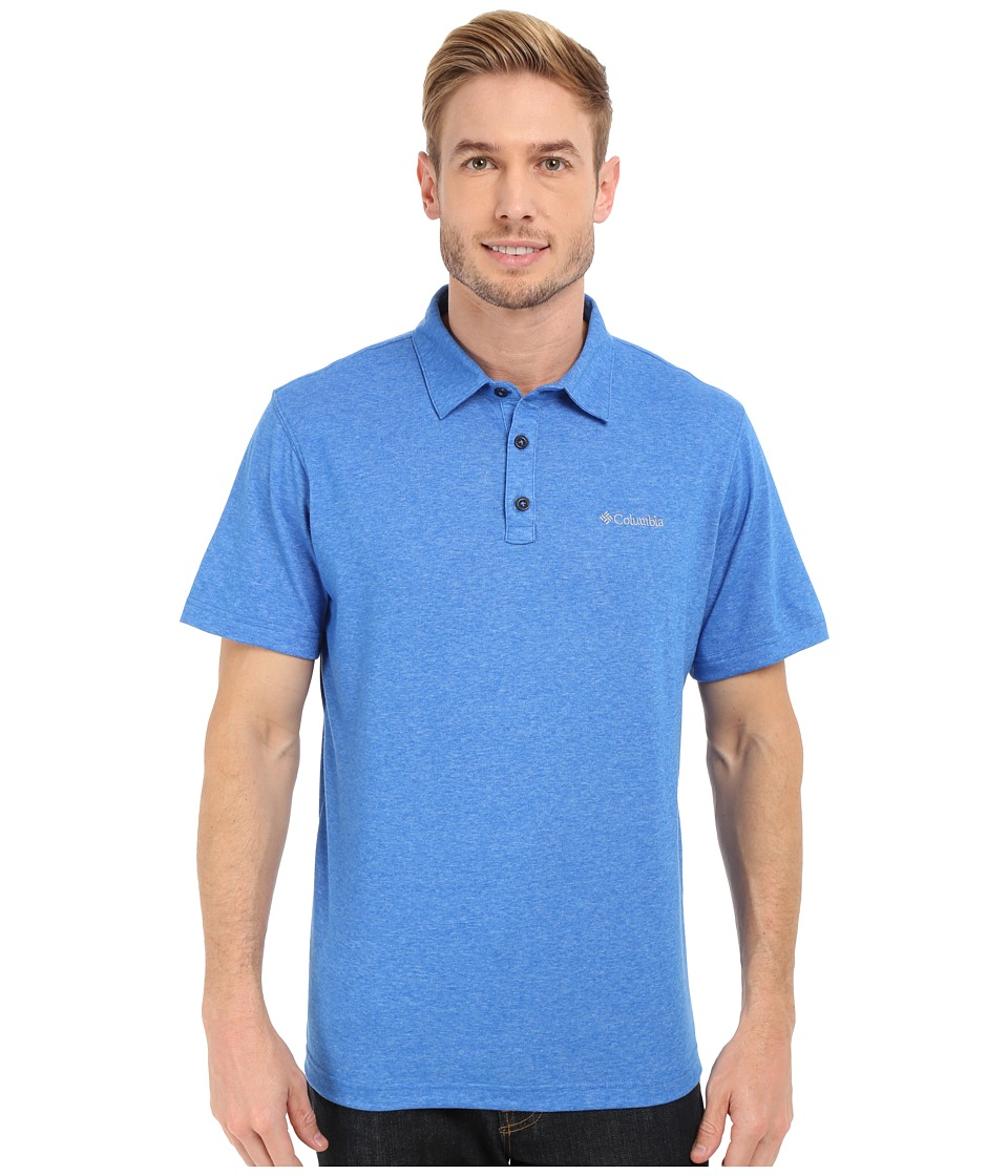 Columbia - Thistletown Park Polo II (Super Blue Heather) Men