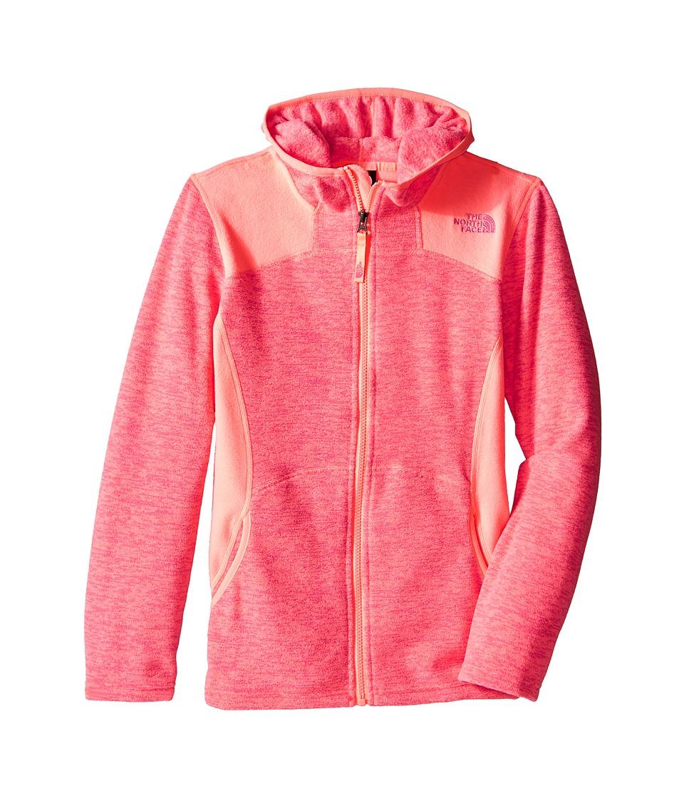The North Face Kids - Viva Fleece Hoodie (Little Kids/Big Kids) (Cha Cha Pink) Girl's Sweatshirt