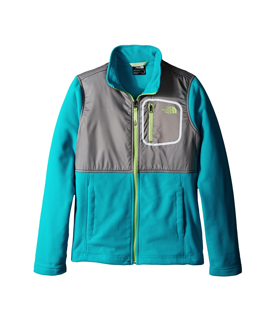 The North Face Kids - Glacier Track Jacket (Little Kids/Big Kids) (Bluebird) Girl's Coat