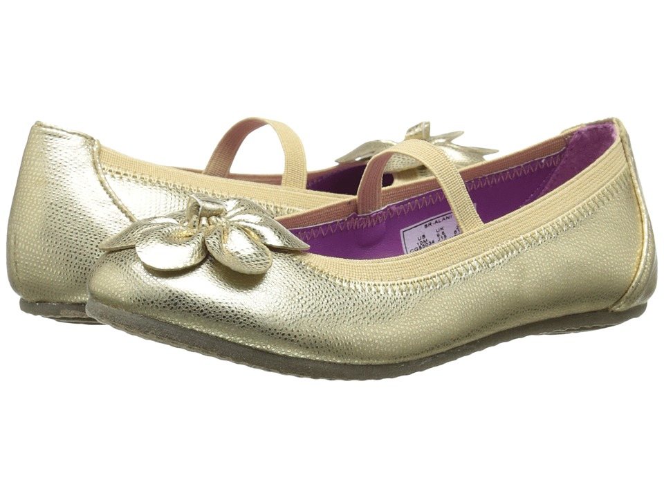 Stride Rite - Ainslee (Little Kid) (Gold) Girls Shoes