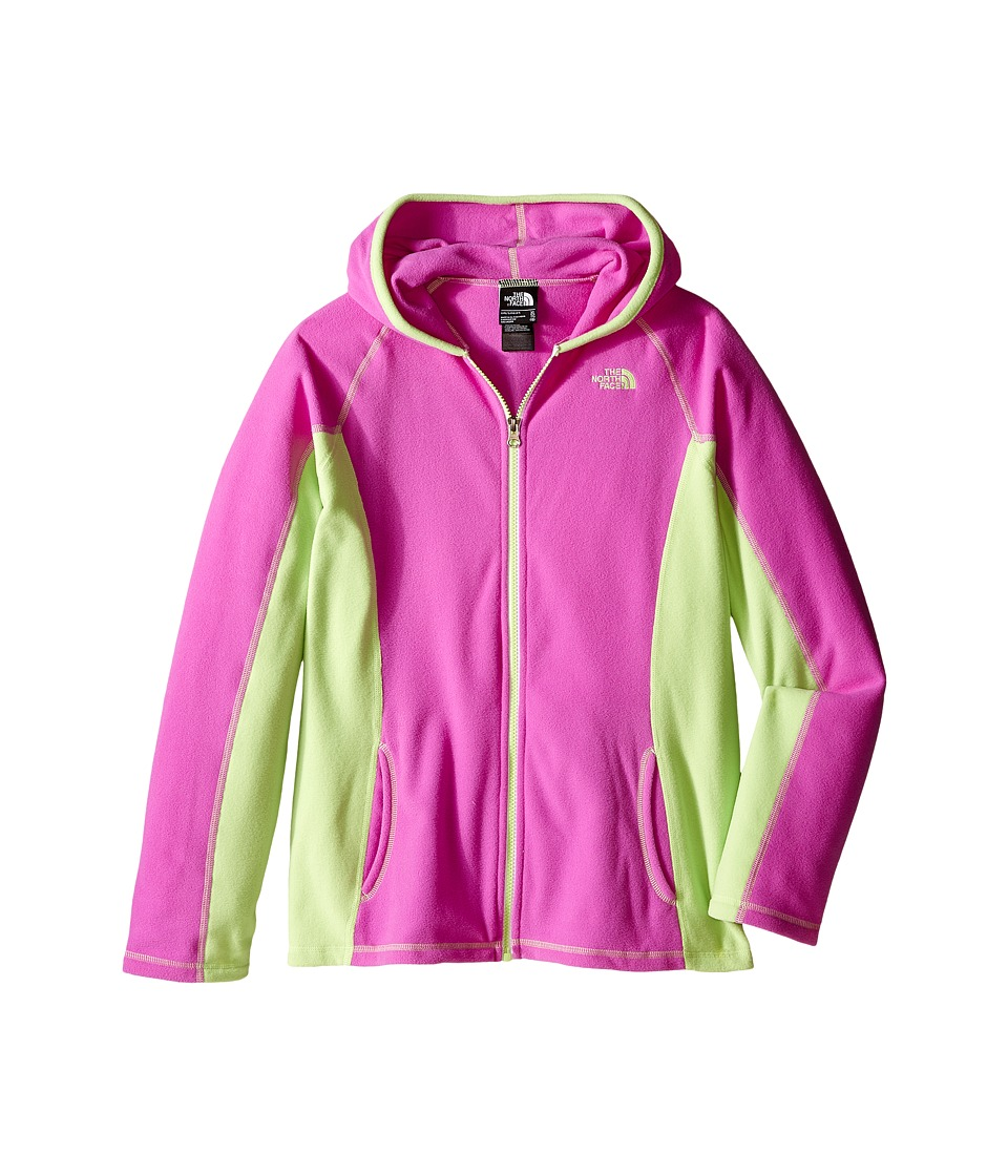 The North Face Kids - Glacier Full Zip Hoodie (Little Kids/Big Kids) (Sweet Violet (Prior Season)) Girl's Sweatshirt