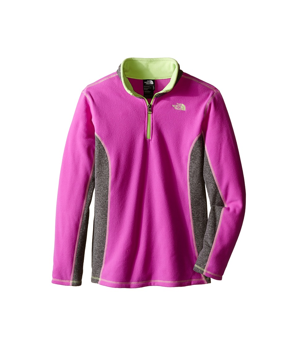 The North Face Kids - Glacier 1/4 Zip (Little Kids/Big Kids) (Sweet Violet) Girl's Sweatshirt